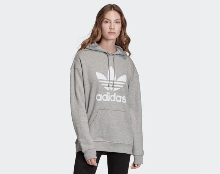 Adidas Felpa Donna Hoodie Trefoil