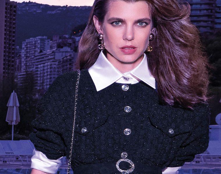 Giacca Chanel Tweed effetto iridescente moda stile lusso