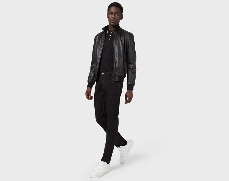 Jeans Armani slim fit da uomo in cotone